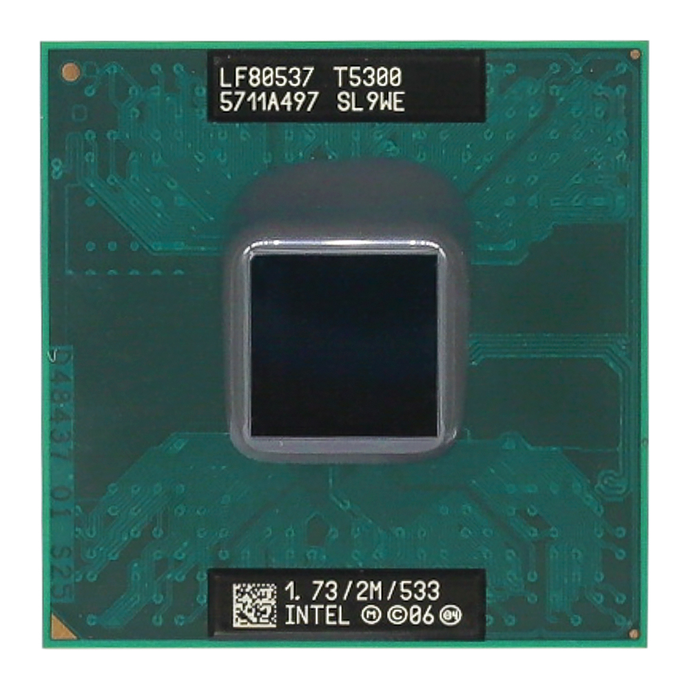 Inteligencia Core 2 Duo T5300 CPU (2M Cache/1,73 GHz/533 MHz/Dual-Core) portátil procesador INTEL QHQG versión de ingeniería ES de I7 6400T I7-6700K 6700K procesador CPU 2,2 GHz Q0 paso quad-core socket 1151