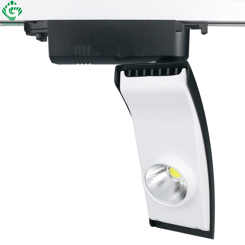 Track Lighting 20W Spot Rail Aluminum Clothing Shop Shoe