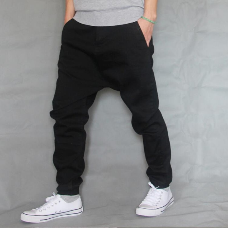 TOP Brand Men Baggy Jeans Denim Loose Washing Jeans Men Hip Hop Jeans Boys Casual Skateboard Relaxed Fit Jeans Mens Harem Pants euramerican style baggy hip hop men jeans widened increase skateboard pants comfortable mid waist casual mens streetwear jeans