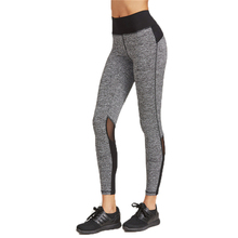 Gray Fitness Sport Running Tights Skinny Yoga Pants Women Leggings Wear Yoga Leggins Gym Workout Jeggings Aerobic Clothing