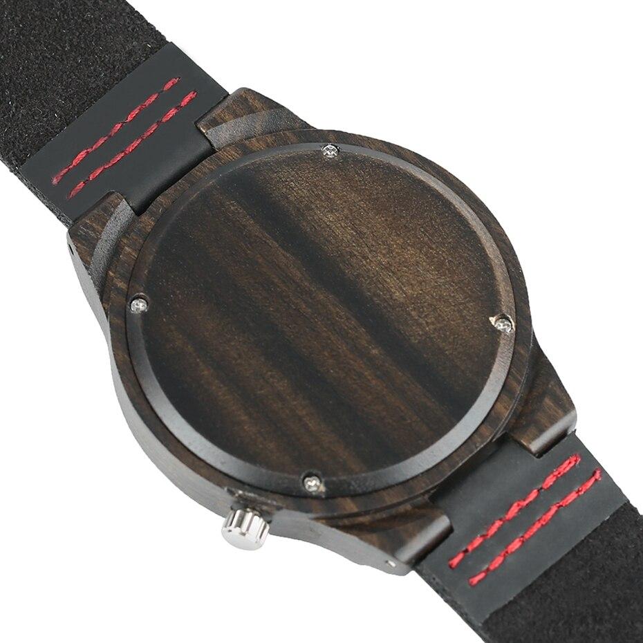 Top Luxury Mens Watch Retro Ebony Wood Watch Unique Diamond Dial Sports Quartz Women Writstwatch Genuine Leather Valentine Gifts 2020 (6)