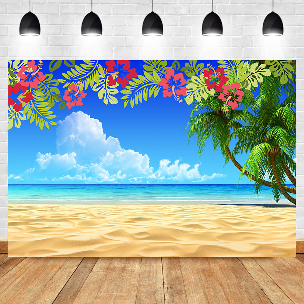 Tropical Beach Photography Background Summer Seaside Beach Palm Tree Flora Blue Sky Backdrop Hawaiian Luau Party Banner Backdrop Background Aliexpress A wide variety of hawaiian backgrounds options are available to you, such as home, airplane. us 5 74 42 off tropical beach photography background summer seaside beach palm tree flora blue sky backdrop hawaiian luau party banner