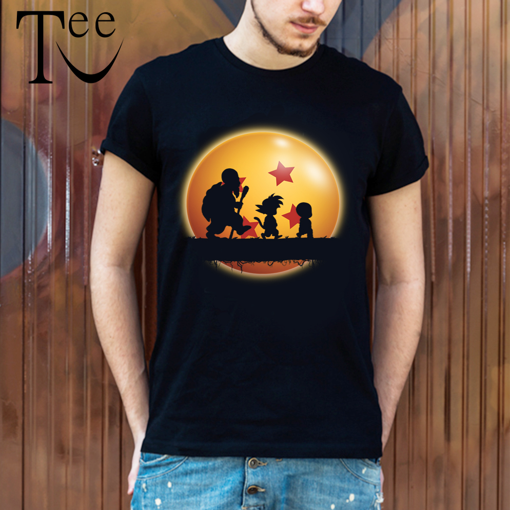 Dragon Ball T shirt Master roshi T Shirt Top Design T-shirt Son Goku t shirt Streetwear Plus size Streetweart Tees