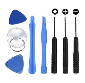 200sets 8 in 1 REPAIR PRY KIT OPENING TOOLS With 5 Point Star Screwdriver tools sets For IPHONE 4 5 6 7 8 X