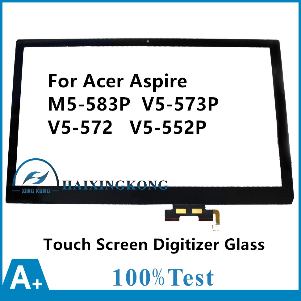 15.6For Acer Aspire M5 583P 5859 9688 6637 6428 6423 V5 573P 9899 V5 572 4429 V5 552P 7480 Touch Screen Panel Digitizer Glass for acer aspire v3 772g notebook pc heatsink fan fit for gtx850 and gtx760m gpu 100% tested