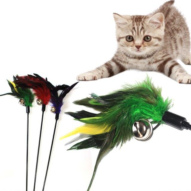 1 PC Gatto Giocattoli Da Compagnia Giocattoli Multicolor Divertente Gatto Tease