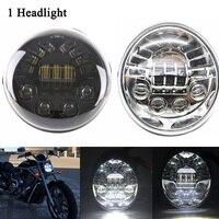 Newest DOT E9 Harley V rod Headlight For VROD Motorcycle led Headlight Daymaker for Harley VRod VRSCF VRSC VRSCR Motorcycle