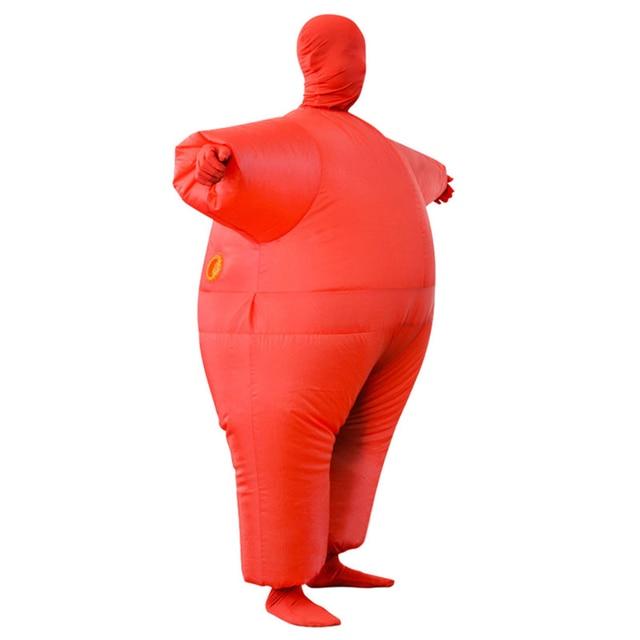 هالوين حزب الديكور نفخ كامل بدلة للجسم زي الكبار مضحك تأثيري القماش حزب إمدادات لعبة هدية