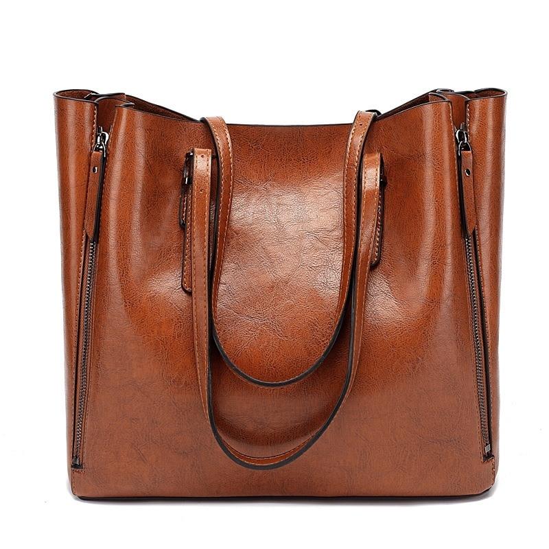 New Fashion Luxury Women's Handbag Women Large Tote Bag Female Bucket Shoulder Bags Lady Leather Messenger Bag Shopping Bag