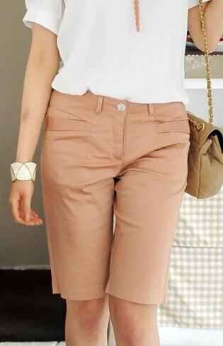 2018 summer   capris   knee-length   pants   casual   pant   plus size   pants   women   capris     pants