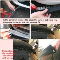 2.5M / car front lip bumper Sticker accessories for Chevrolet Cruze Aveo Captiva Lacetti Mazda 3 6 2 Peugeot 407 308 406