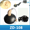 Melhor som amplificador recarregável MINI Tone ajustável auditivos Aids dispositivo pessoal de cuidados ferramentas presente