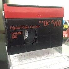 One Blank Authentic SP60 / LP90 Minutes DVM60  Mini DV Digital Video Recording Cassette Tapes.
