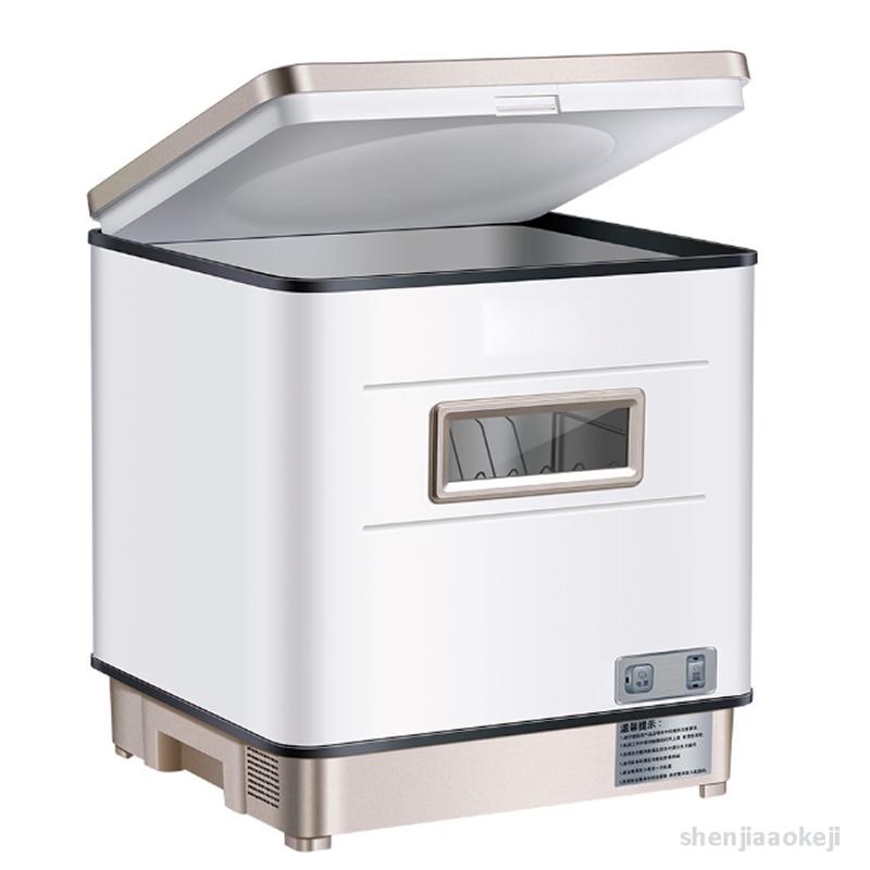 Бытовая посудомоечная машина, высокотемпературная стерилизующая машина для мытья посуды, автоматическая настольная кухонная стиральная м...