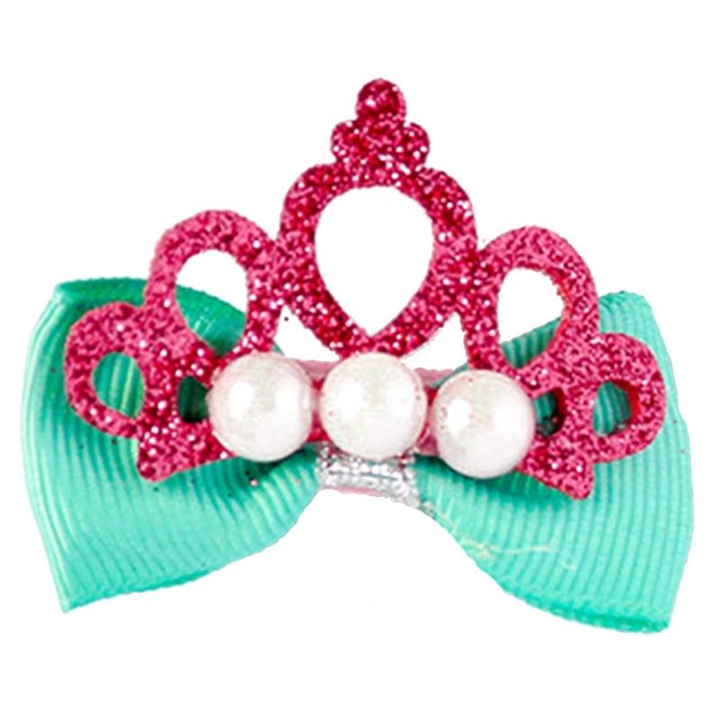 Cute Bear Slide bow Brooch Pin hair clip Jewellery Plastic display card holder