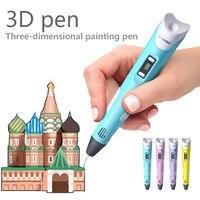 myriwell 3d ручка для рисования 1,75 мм ABS / PLA нить 3д ручка 3d pen 3d pens Лучший подарок для детей DIY 3 д ручка 3д триде ручка 3 d ручка 3Д РУЧКА stylo 3d ручка сам...