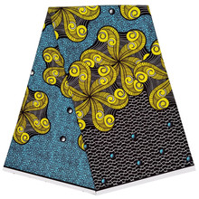 Gorgeous Ankara African Wax Prints Fabric Dutch wax fabrics 100% pure cotton