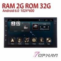 Авто книги читатель универсальный 7 ''Android 6,0 Topnavi Multi HD емкостный Экран поддержки оригинальный руль Управление