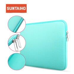 Suntaiho Durchführung Lagerung Schutzhülle Laptop Sleeve Abdeckung Haut Tasche Tasche für MacBook Mac Book Pro Air 11,6 13,3 15,4 zoll