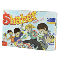 Interactive Toys Party Games Shaker ( English Version) Fun Gag Family Game Kids and Adults Outdoor Games Team Work Novelty Gifts
