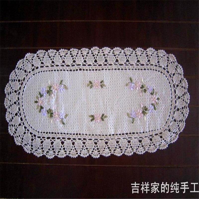 Crochet chemin de table promotion achetez des crochet - Napperon crochet chemin de table ...