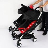 wott 3 шт. муфта буш вставить в коляски для ребенка yoya babyzen йо-йо коляски соединитель адаптер сделать Йойо в коляска для близнецов