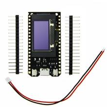 16 Mt bytes (Mt 128 bit) Pro ESP32 ESP32 OLED OLED V2.0 TTGO y para Arduino Módulos WiFi + Bluetooth Doble ESP 32 ESP8266 et OLED