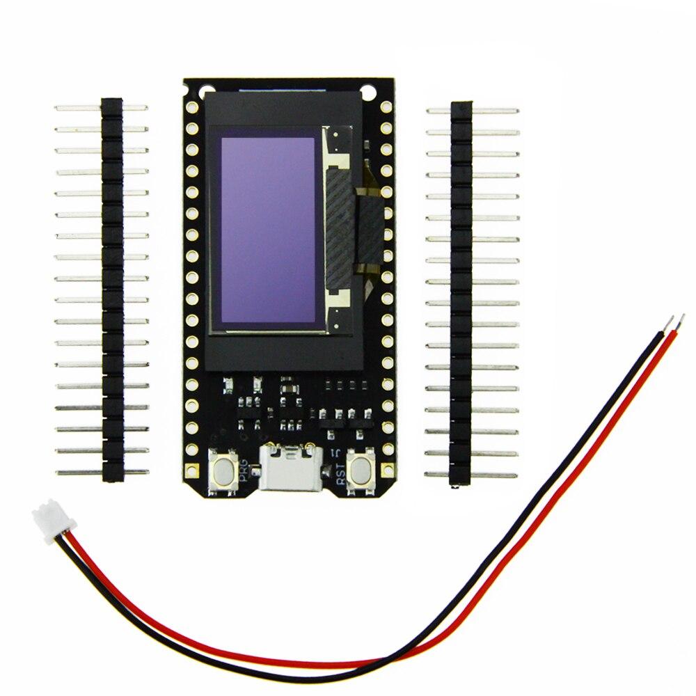 4 Mt bytes (32 Mt bit) pro ESP32 OLED V2.0 TTGO & für Arduino ESP32 OLED WiFi Module + Bluetooth Doppel ESP-32 ESP8266 et OLED