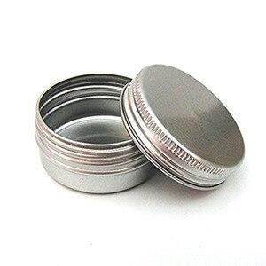 10PCS 50ml Empty Containers 50 Ml Empty Sample Jars Cosmetic Jars Aluminium Containers For Cosmetics Aluminum Makeup Case