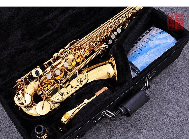 D'origine Japon Alto Saxophone YAS 62//04 Eb Or Alto Sax 62 Or Professionnel instrument de musique Accessoires Avec Le Cas et boîte