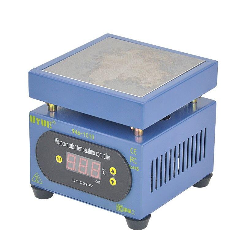 все цены на 220V 300W constant temperature heating table Mobile phone split screen thermostat PCB hot plate preheating station 100mm * 100mm онлайн