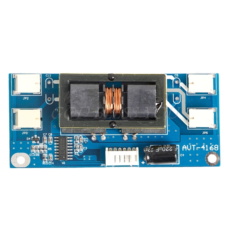 4 CCFL Lamp Backlight Universal Laptop LCD Inverter 10-30 V For 15-24 Screen 6 lamp ccfl universal inverter board for lcd screen monitor with samll connector