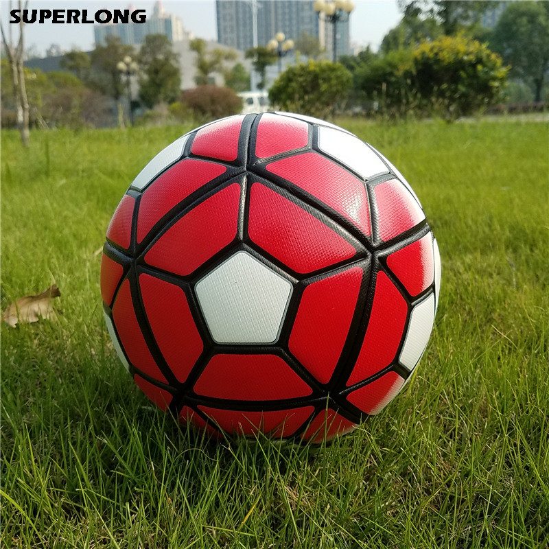 New Arrivals 2018 Premier PU Football official Soccer ball Size 5 ball Football league sports training