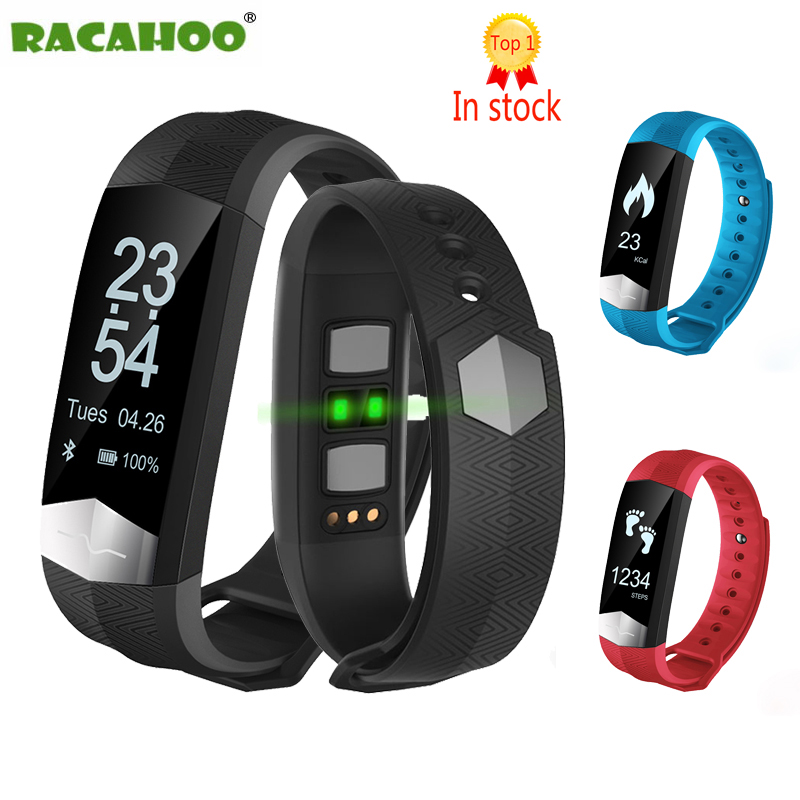 RACAHOO Smart Band With ECG Blood Pressure Monitor Bluetooth Sport Smart Wristband Fitness Bracelet For Xiaomi Android Pedometer new update original xiaomi bluetooth ihealth smart blood pressure dock monitor system for xiaomi series electronic gadgets