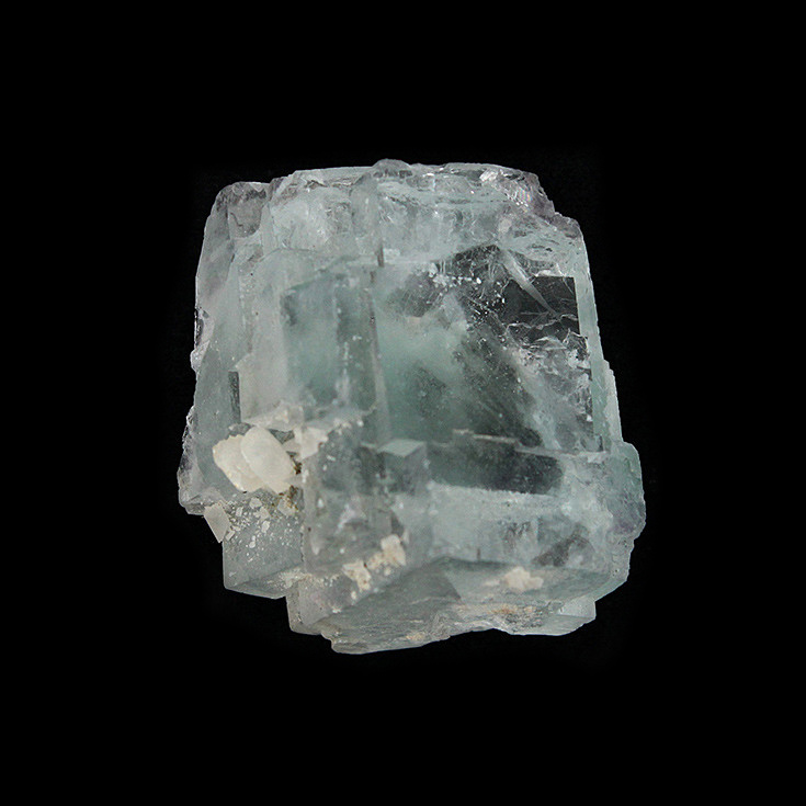 Yaogangxian fluorite crystal specimens teaching specimens produce small ornaments Mineral Collection Features Gift ygx08