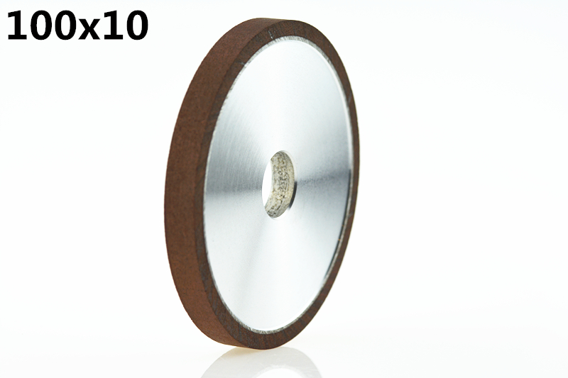 Jrealmer 100x10mm Diamond Grinding Wheel Processing Saw Blade Cutter Grinder 20mm hole 100mm od 20mm hole 35mm thickness hardware parts diamond grinding wheel 240
