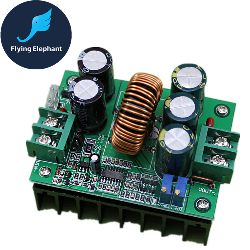 цена на High Power Updated 1200W BOOST DC-DC CC CV Step-up Power Module On-board Regulator Solar 12-80V Continuously ADJ.