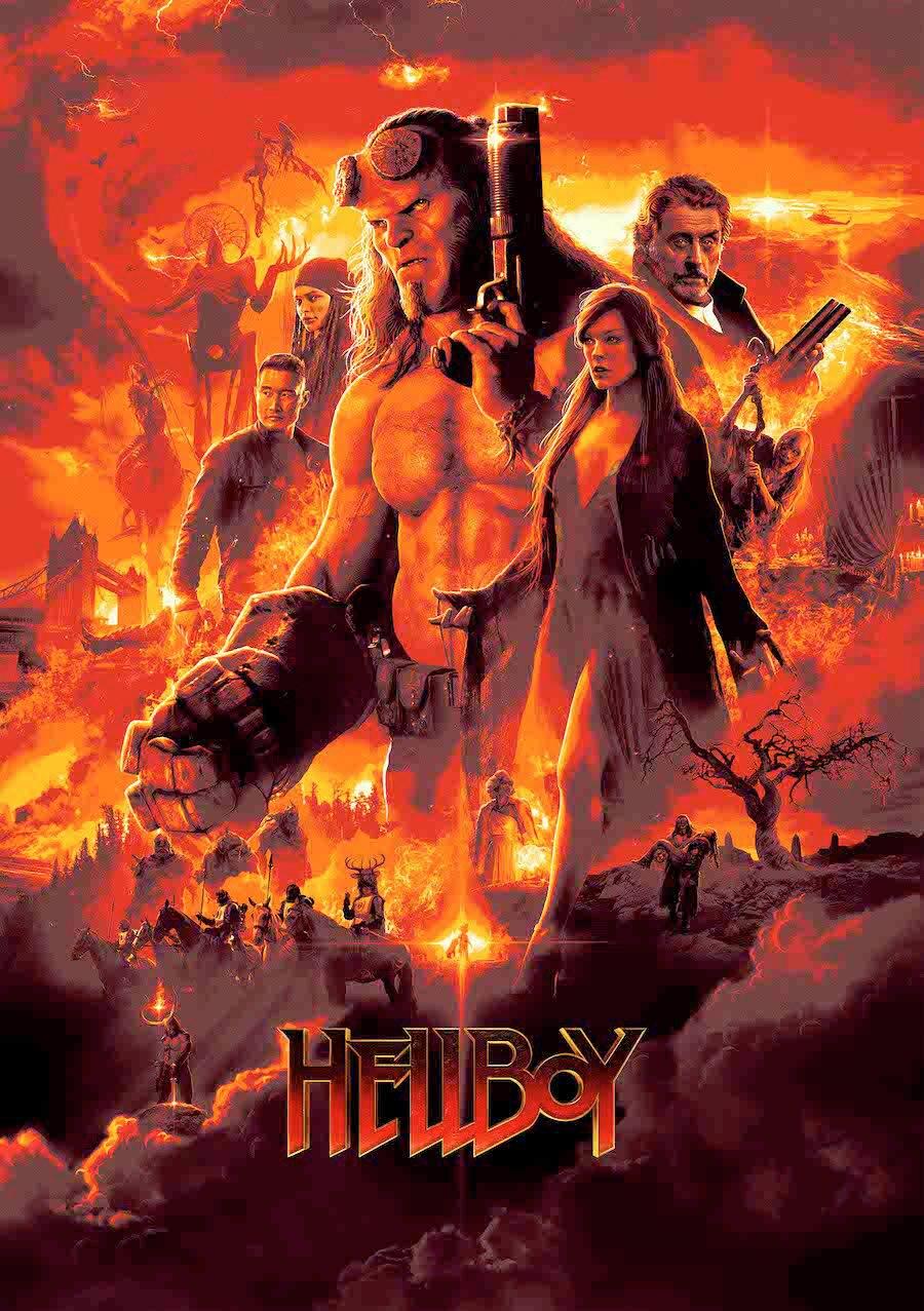2019.[動作/奇幻][地獄男爵:血皇后崛起 Hellboy]迅雷百度云高清下載圖片 第1張