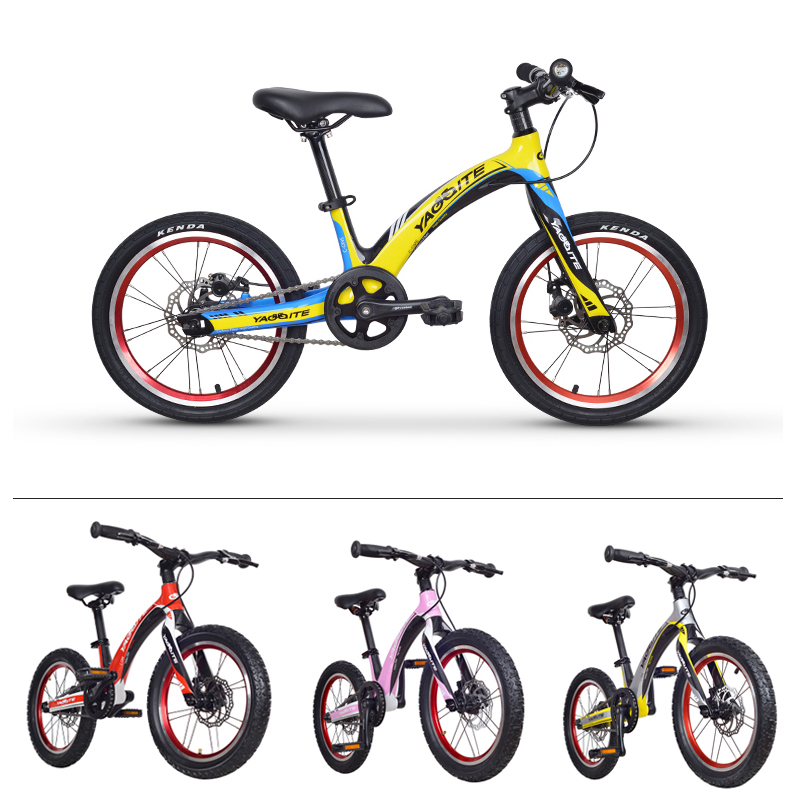 EARRELL Kids Bikes super light carbon fiber bicycle mountain bike 3 10 year old boys and