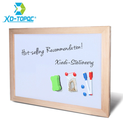 Xindi 30 40cm dry erase whiteboard magnetic board drawing boards wood frame can erased easily write.jpg 250x250