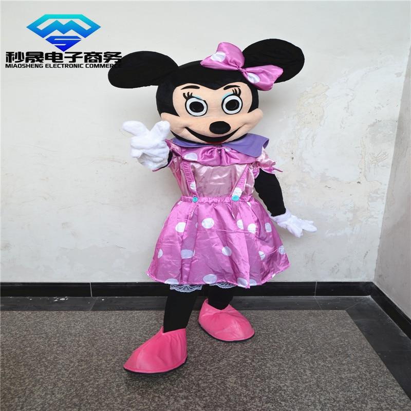 2017 Hot cartoon mascot costume dress Minnie adult size costumes cosplay dress manufacturers sales