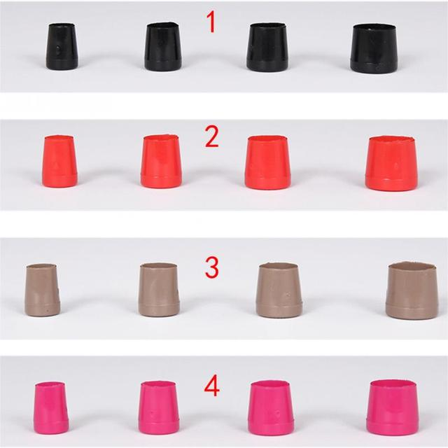 4 Pairs / Lot Non-slip Heel Protectors High Heeler Stiletto Shoes Covers Caps Bottom Stripe Antislip Heel Tips