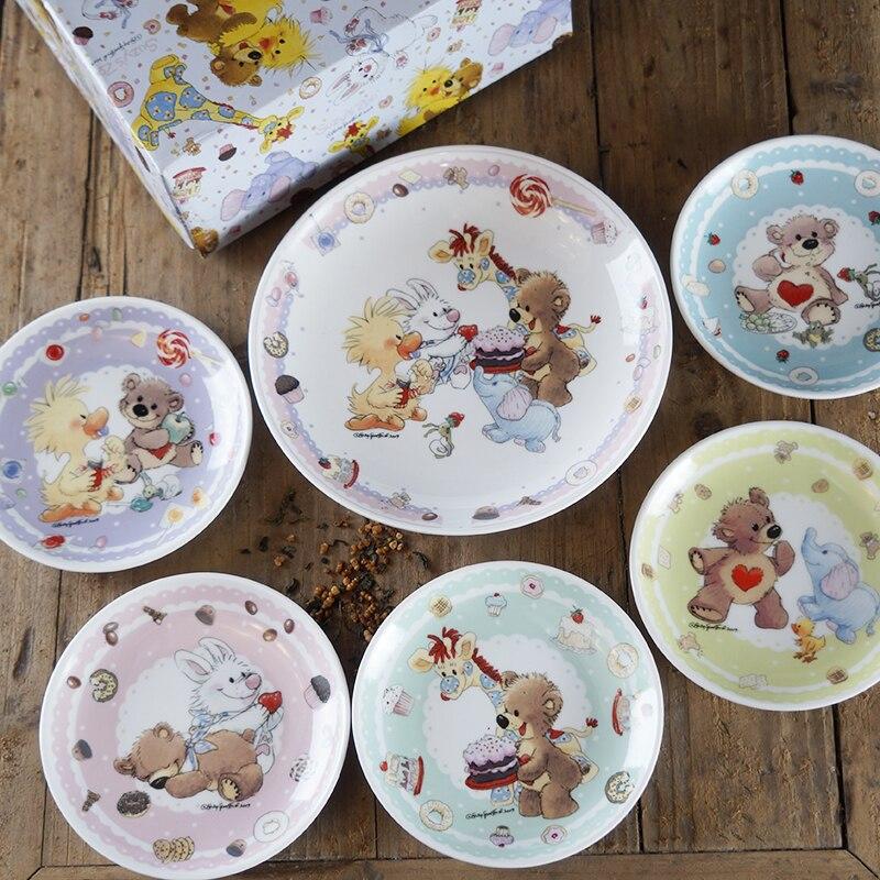 suzyu0027s zoo Baby Plate set Dinnerware feeding set kids plate dishes child dinner plates dinnerware sets feeding bowl Tableware-in Dishes u0026 Plates from Home ... & suzyu0027s zoo Baby Plate set Dinnerware feeding set kids plate dishes ...