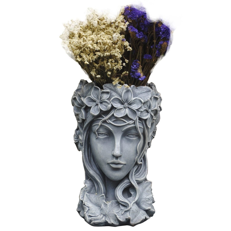 Богиня цветочный горшок Nordic украшения дома Венера статуя балкон греческий суккуленты Большой Калибр творческий ваза