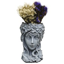 Goddess Flower Pot Nordic Home Decoration Venus Statue Balcony Greek Succulents Large Caliber Creative Vase