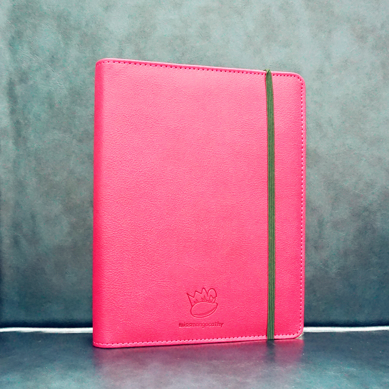 Red Passion Faux Leather Notebook Monthly Weekly Planner Lined Journal Business Diary artist planner agenda scheduler a6 faux leather cover weekly monthly study travel notebook organizer to do list