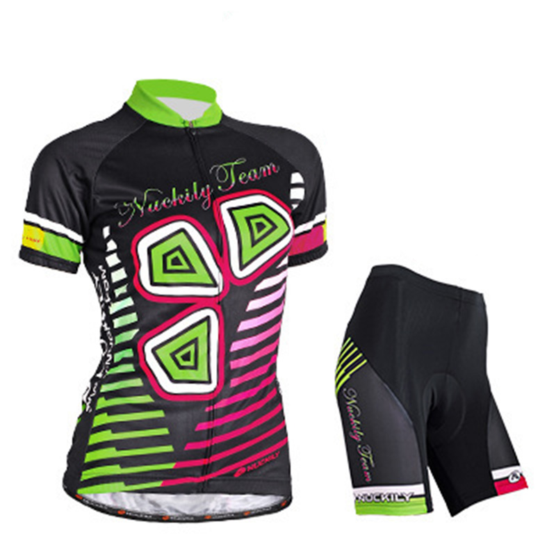 Cycling suit Anti-sweat Quick Dry short - sleeved suit Cycling jerseys live team cycling jerseys suit a001