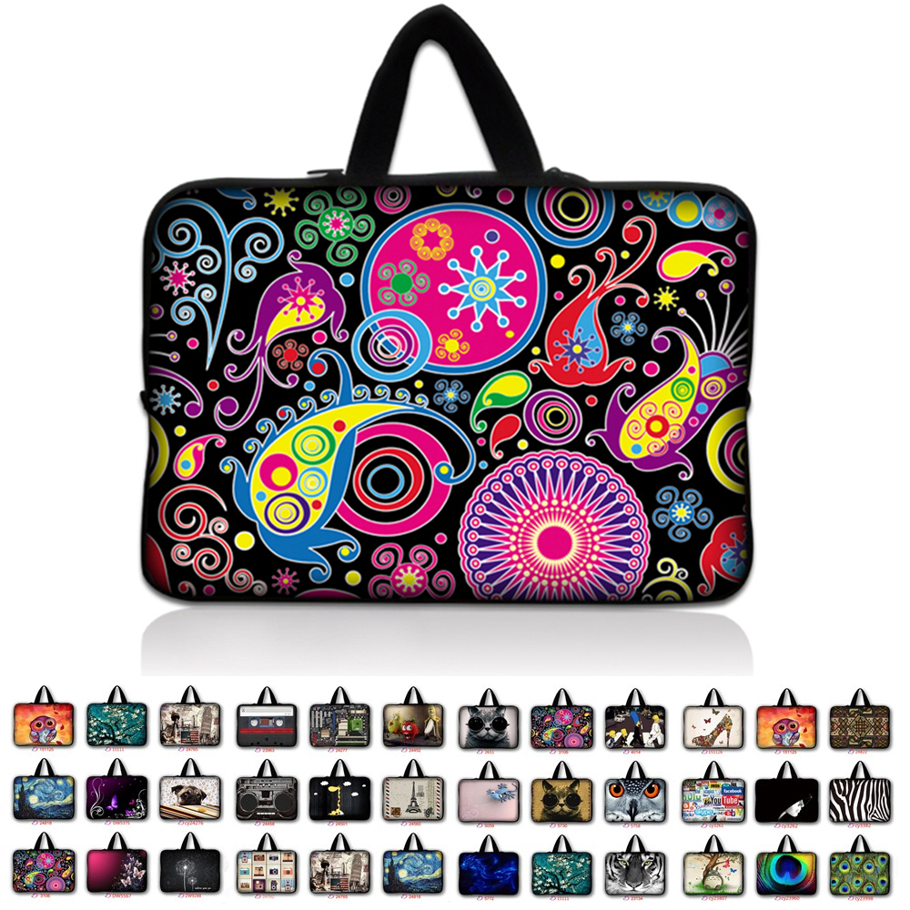 7 10 11.6 13.3 14.4 15.6 17.3 inch Handle Laptop Bag Sleeve Notebook Smart Cover Case For Macbook Air/Pro/Retina For Asus *9