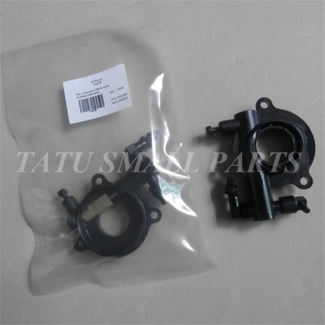 OIL PUMP ASSY FOR CHAMPION 255 CHAINSAW PLUGER HOUSING 2 STROKE CHAIN SAW  PARTS chain sprocket cover assy for chainsaw 61 262 266 268 272 free shipping partner chain brake parts 503 73 66 01