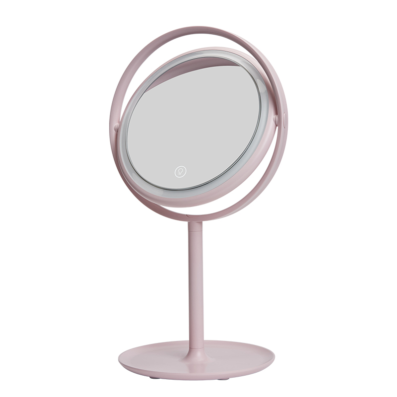 LED Makeup Mirror With Light Desktop Single Mirrors Cosmetic Vanity True Color Clarity System Natural Daylight Mode Smart SwitchLED Makeup Mirror With Light Desktop Single Mirrors Cosmetic Vanity True Color Clarity System Natural Daylight Mode Smart Switch